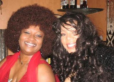 Me and 'V' at my Dreamgirls birthday party. One of my favorite memories